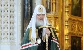 Святейший Патриарх Кирилл: «Обращаюсь ко всем, от кого зависит принятие решений: немедленно остановите кровопролитие»