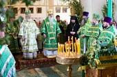 Иерарх Константинопольской Православной Церкви посетил Самарскую митрополию