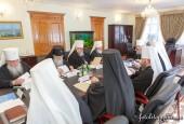 В Киеве состоялось очередное заседание Синода Украинской Православной Церкви