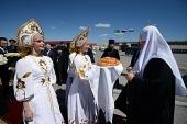 Начался Первосвятительский визит Святейшего Патриарха Кирилла в Тобольскую митрополию