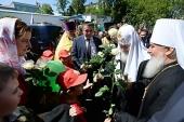 Святейший Патриарх Кирилл посетил Знаменский собор в Тюмени