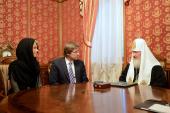 Святейший Патриарх Кирилл встретился с мэром Риги Нилом Ушаковым