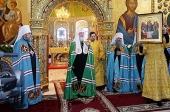 Слово Святейшего Патриарха Кирилла после Литургии в Софийско-Успенском соборе Тобольского кремля