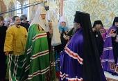 Слово Святейшего Патриарха Кирилла при вручении архиерейского жезла Преосвященному Никанору (Анфилатову), епископу Енисейскому и Лесосибирскому