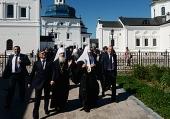 Святейший Патриарх Кирилл посетил Абалакский Знаменский монастырь