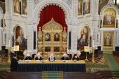 Святейший Патриарх Кирилл возглавил Епархиальное собрание г. Москвы