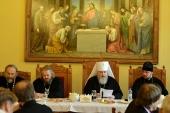 Председатель Синодального комитета по взаимодействию с казачеством возглавил конференцию «Россия — священная наша держава» в Петербурге