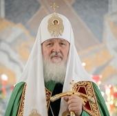 Святейший Патриарх Московский и всея Руси Кирилл — о начавшихся переговорах по урегулированию кризиса на Украине