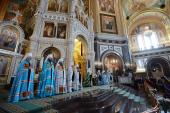 Слово Святейшего Патриарха Кирилла в день памяти св. равноап. Нины после Литургии в Храме Христа Спасителя