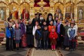 Монахи Валаамского монастыря приютили на подворье в Приозерске 116 беженцев из Восточной Украины