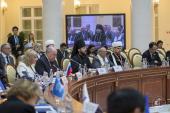 Ректор Санкт-Петербургской духовной академии принял участие в конференции высокого уровня ASEM «Межкультурный и межрелигиозный диалог»