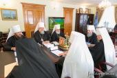 Священный Синод Украинской Православной Церкви определил время отпевания и место захоронения Блаженнейшего митрополита Владимира