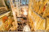 В Киево-Печерской лавре духовенство и верующие прощаются с Блаженнейшим митрополитом Владимиром