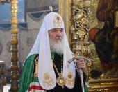 Предстоятель Русской Православной Церкви совершил заупокойную литию по Блаженнейшему митрополиту Киевскому Владимиру