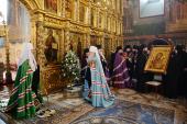 Проповедь Святейшего Патриарха Кирилла после Литургии в Новодевичьем монастыре г. Москвы