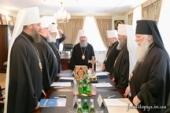 Обращение Священного Синода Украинской Православной Церкви к епископату, клиру, монахам и мирянам