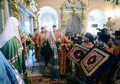 Слово митрополита Крутицкого Ювеналия в праздник Иверской иконы Божией Матери после Литургии в Новодевичьем монастыре