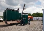 Донская митрополия передала крупную партию гуманитарной помощи для вынужденных переселенцев с Украины