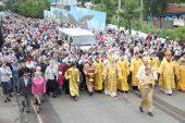 100-летие самого большого крестного хода Казахстана отметили в Петропавловске
