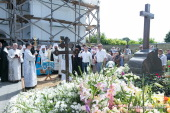 В девятый день со дня преставления Блаженнейшего митрополита Киевского Владимира во всех храмах Украинской Православной Церкви прошли заупокойные богослужения