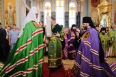 Слово Святейшего Патриарха Кирилла при вручении архиерейского жезла Преосвященному Симону (Морозову), епископу Шахтинскому и Миллеровскому