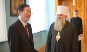 Управляющий делами Московской Патриархии принял начальника Государственного управления КНР по делам религий