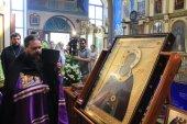 В республиках Северного Кавказа побывала чтимая икона преподобного Сергия Радонежского с частицей мощей