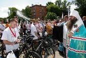 По регионам Приволжского и Центрального федеральных округов проходит молодежный велопробег, посвященный 700-летию со дня рождения преподобного Сергия Радонежского