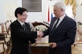 Губернатор Санкт-Петербурга встретился с делегацией Государственного управления Китая по делам религий