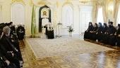 Святейший Патриарх Кирилл встретился с делегациями Поместных Православных Церквей, прибывшими на празднование 700-летия преподобного Сергия Радонежского