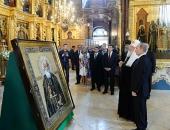Президент РФ В.В. Путин и Святейший Патриарх Кирилл посетили концерт, посвященный 700-летию преподобного Сергия Радонежского