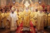 Торжества в честь 700-летия преподобного Сергия Радонежского в Патриаршем соборе Нью-Йорка возглавил Предстоятель Православной Церкви в Америке