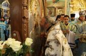 Местоблюститель Киевской митрополичьей кафедры возглавил торжества по случаю 260-летия обретения Песчанской иконы Божией Матери