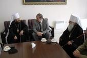Председатель ОВЦС митрополит Волоколамский Иларион посетил Киргизию