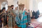 Митрополит Тобольский Димитрий возглавил торжества по случаю престольного праздника Казанской Амвросиевской пустыни в Шамордино