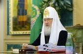 Слово Святейшего Патриарха Кирилла на открытии заседания Священного Синода 25 июля 2014 года