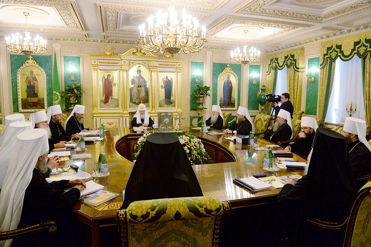 Заседание Священного Синода Русской Православной Церкви 25 июля 2014 года