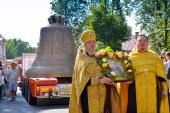 18-тонный колокол «Александр Невский» доставлен в Александро-Невскую лавру