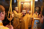 Игумен Паисий (Юрков), избранный епископом Щигровским и Мантуровским, возведен в сан архимандрита