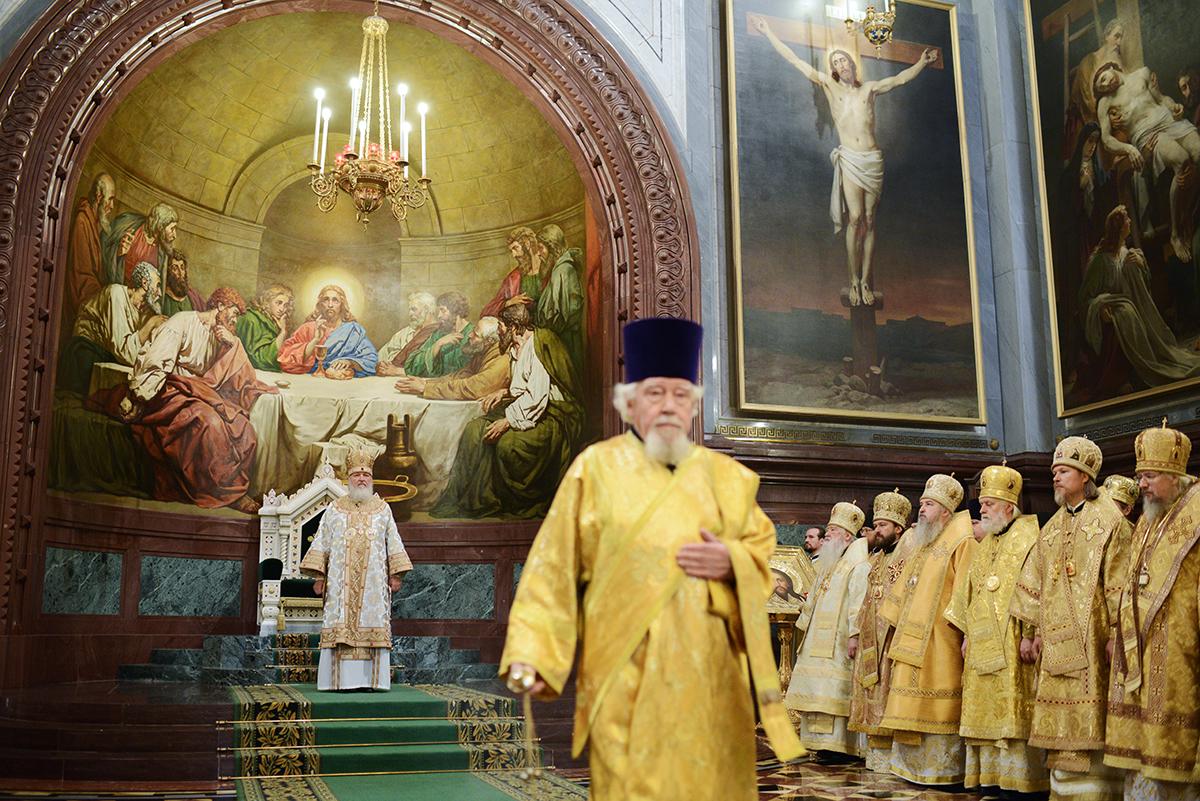 Общемосковские церковные торжества в честь 200-летия победы в Отечественной войне 1812 года