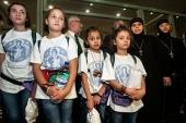 По приглашению Фонда Андрея Первозванного на отдых в Россию приехали дети-сироты из Сирии