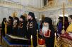 Наречение архимандрита Иоанна (Рощина) во епископа Наро-Фоминского, архимандрита Паисия (Юркова) во епископа Щигровского и Мантуровского и архимандрита Виктора (Сергеева) во епископа Глазовского и Игринского