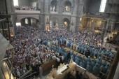 В праздник Почаевской иконы Божией Матери торжества в Свято-Успенской Почаевской лавре возглавил Местоблюститель Киевской митрополичьей кафедры