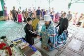 Управляющий делами Украинской Православной Церкви посетил центр социальной адаптации для беженцев в Киевской области