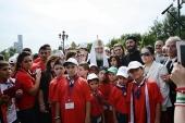 Завершилось пребывание в России группы детей-сирот из Сирии
