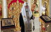 Святейший Патриарх Кирилл совершил панихиду на 40-й день кончины митрополита Киевского и всея Украины Владимира