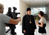 В ходе прямой телефонной линии председатель столичного Фонда поддержки строительства новых храмов архиепископ Егорьевский Марк ответил на вопросы москвичей