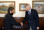 Митрополит Волоколамский Иларион встретился с главой представительства Евросоюза в России