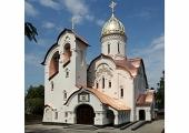 В Приокском районе Нижнего Новгорода освящен храм в честь святого великомученика Георгия Победоносца