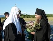 Святейший Патриарх Кирилл прибыл на Соловки